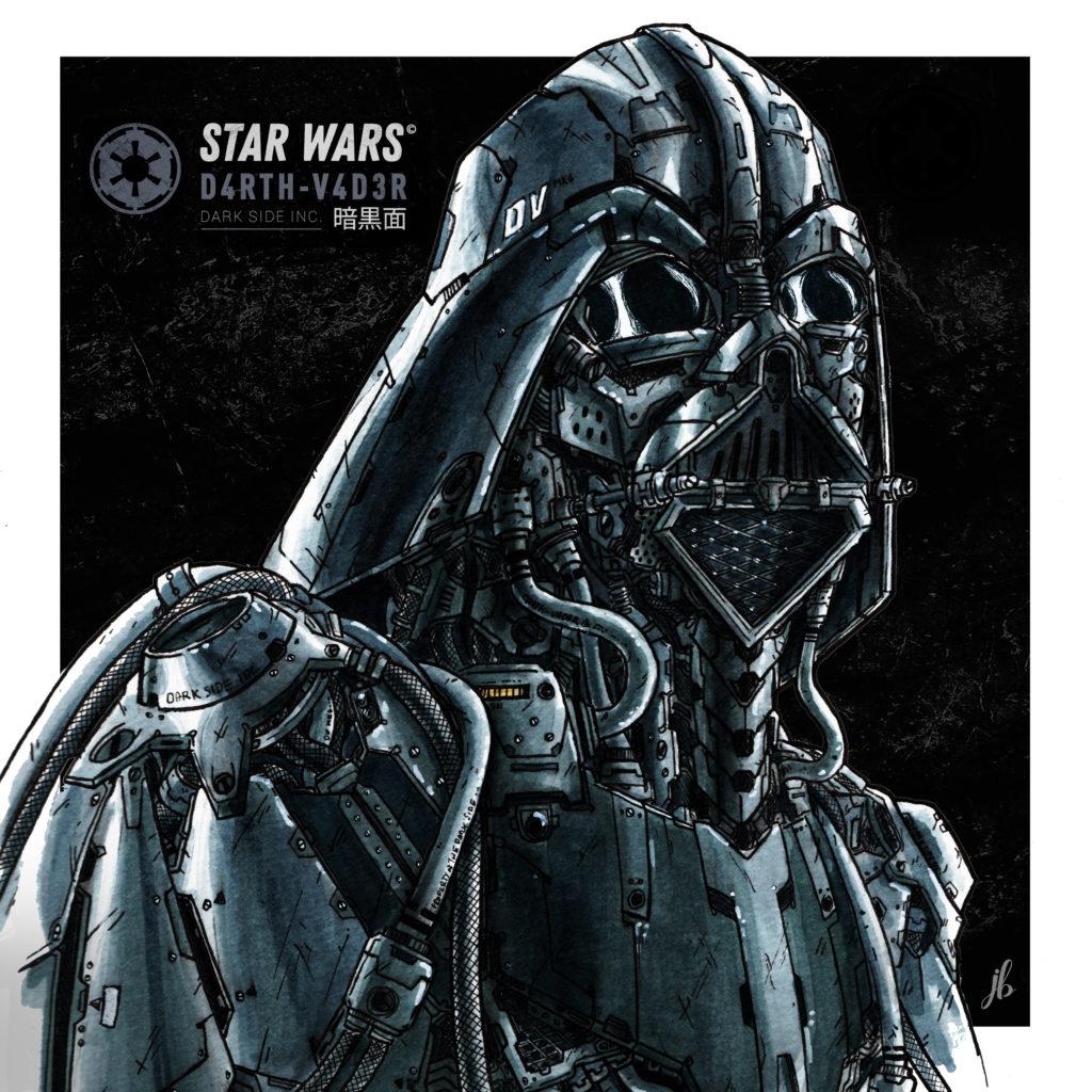 Star Wars - Mechanic Darth Vader